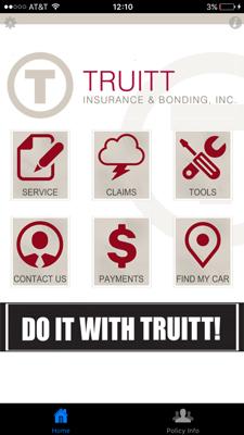 Truitt App Homepage