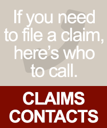 Claims Contacts