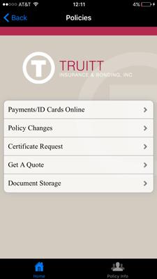 Truitt App Policies